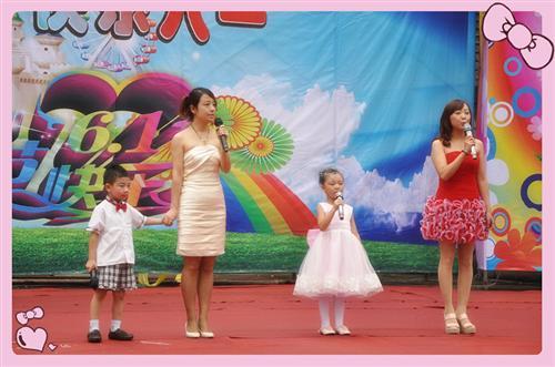 """幼儿园动态 六一六一快乐的节日  2012年快乐的大地幼儿园""""六一""""文艺"""